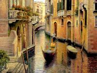 Golden Evening Gondola